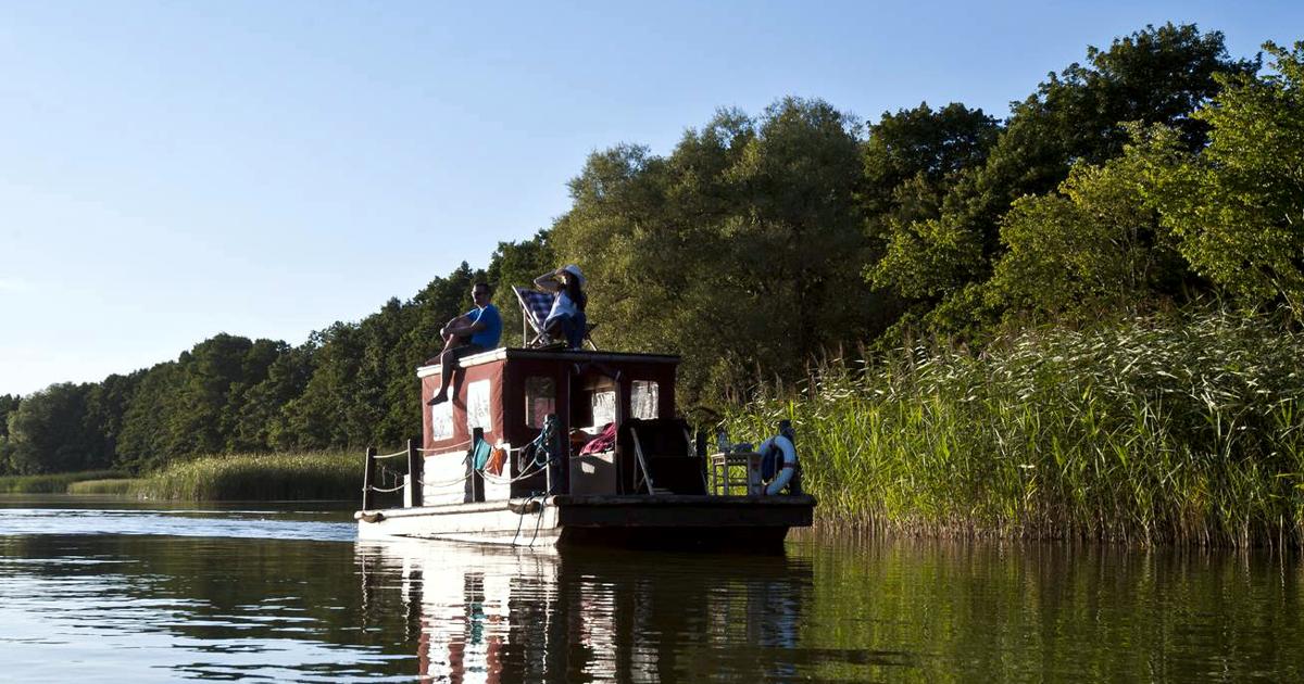Bild Urlaub auf dem Floß in Nordbrandenburg Ringsleben