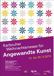 Bild Weihnachtsmesse für angewandte Kunst Karlsruhe