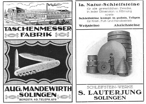 Bild Taschenmesserreiderei Lauterjung Solingen
